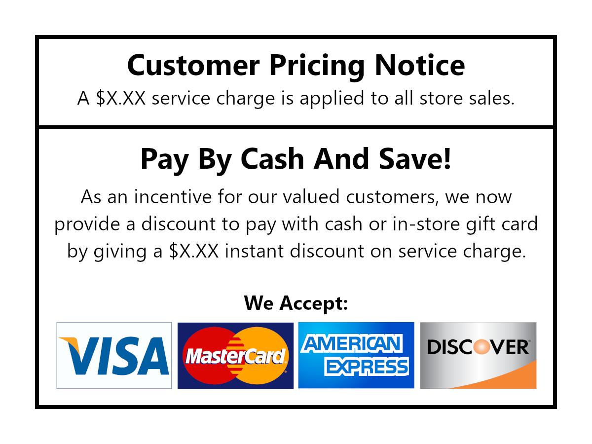 Cash Discount Program in Bluffton SC